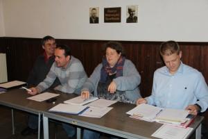 Geschäftsführender Vorstand (v.l.): Lothar Carli, Jörg Höhn, Sabine Harnisch, Thorsten Schaar