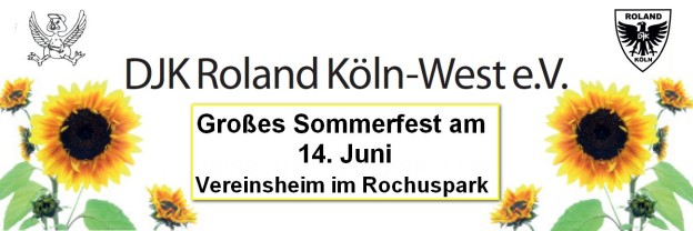 Sommerfest 2014 – 14. Juni 2014 !