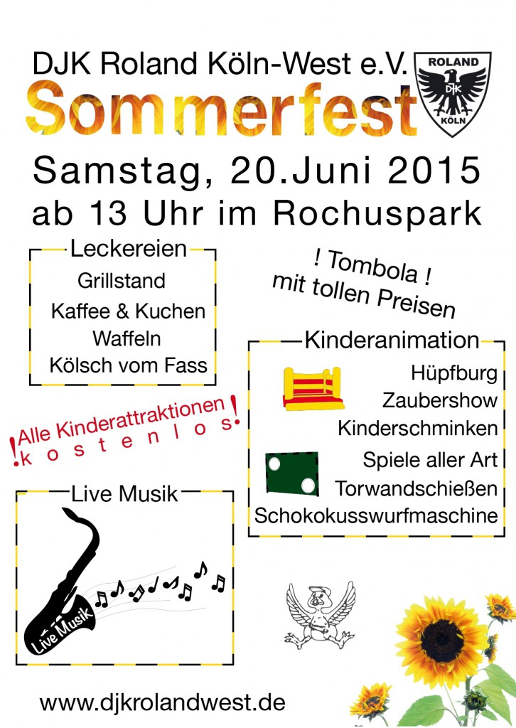 Sommerfestflyer 2015