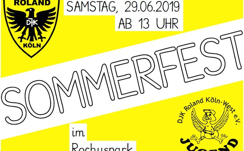 Save the Date: Sommerfest 2019 am 29. Juni 2019